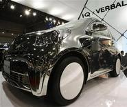 <p>Uno dei nuovi modelli di Toyota. REUTERS/Yuriko Nakao</p>