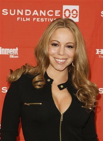 Actress Mariah Carey arrives for the premiere of the film ''Push'' during the Sundance Film Festival in Park City, Utah January 16, 2009. REUTERS/Lucas Jackson
