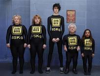 "<p>""Pesi umani"" della palestra Gymbox di Londra. REUTERS/Stephen Hird</p>"