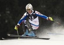 <p>Lo sciatore francese Didier Lizeroux. REUTERS/Wolfgang Rattay (AUSTRIA)</p>