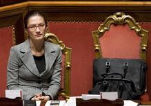 <p>Il ministro della Scuola Mariastella Gelmini. REUTERS/Tony Gentile (ITALY)</p>