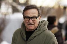 "<p>Actor Robin Williams arrives at the premiere of the film ""World's Greatest Dad"" during the Sundance Film Festival in Park City, Utah January 18, 2009. REUTERS/Lucas Jackson</p>"