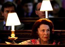 <p>Marguerite, a última pessoa da família Reuter, criadora da agência de notícias Reuters, morreu aos 96 anos REUTERS/Dylan Martinez/Files (BRITAIN)</p>