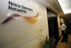 <p>Il logo di Nokia Siemens Networks nell'ufficio di Dubai dell'azienda. La foto è stata scattata nel giugno 2007 REUTERS/Ahmed Jadallah</p>