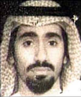 Abd al-Rahim al-Nashiri, a suspect in the USS Cole bombing who is being held at Guantanamo naval base, is pictured in this 2002 photograph. The judge overseeing U.S. war crimes court at Guantanamo on Thursday dismissed the charges against al-Rahim al-Nashiri, who was accused of plotting the bombing of the Navy warship USS Cole that killed 17 U.S. sailors in the Yemeni port of Aden in 2000, the Pentagon said on February 5, 2009. REUTERS/FBI/Handout