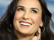 <p>Actress Demi Moore poses during a photocall to promote the movie 'Happy Tears' at the 59th Berlinale film festival in Berlin, February 11, 2009. REUTERS/Johannes Eisele</p>