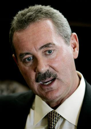 Texan billionaire Allen Stanford is shown during an interview with Reuters in Miami in this May 1, 2008 file photo. REUTERS/Joe Skipper/Files