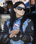 <p>A corredora norte-americana Danica Patrick disse que ficou lisonjeada ao ver seu nome ligado a uma proposta de nova equipe dos EUA na Fórmula 1, mas informou que o projeto é novidade para ela. REUTERS/Brent Smith</p>