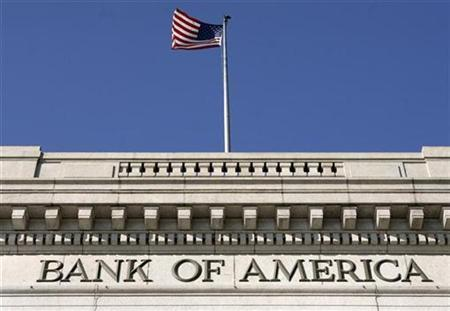 A Bank of America branch is seen in downtown Washington February 20, 2009. REUTERS/Yuri Gripas