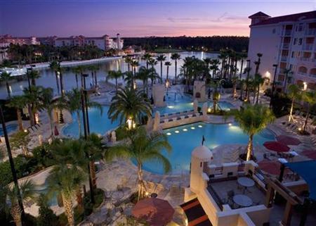 Undated photograph shows Marriott's Grande Vista resort in Orlando, Florida. REUTERS/Marriott Vacation Club/Handout