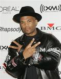 "<p>Recording artist Darryl ""D.M.C."" McDaniels of Run-DMC arrives at a pre-Grammy party hosted by Clive Davis in Beverly Hills, California February 7, 2006. The Grammy Awards will be presented in Los Angeles on Wednesday. REUTERS/Fred Prouser</p>"