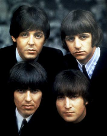 The Beatles in an undated promotional image. REUTERS/Handout