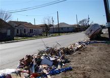 <p>Una zona del Texas dopo il passaggio di un uragano REUTERS/Chris Baltimore</p>