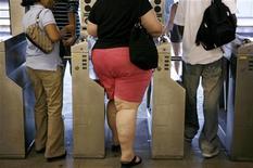 <p>Alcuni passeggeri dela metropolitana REUTERS/Lucas Jackson/Files</p>
