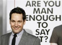 "<p>Cast member Paul Rudd poses at the premiere of the movie ""I Love You, Man"" at the Mann's Village theatre in Los Angeles March 17, 2009. The movie opens in the U.S. on March 20. REUTERS/Mario Anzuoni</p>"