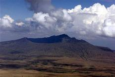 <p>Immagine d'archivio del vulcano spento Longonot, in Kenya. GMM/GB</p>