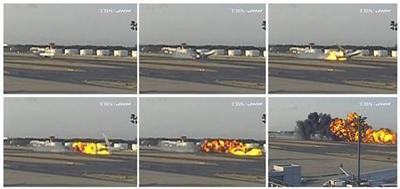 FedEx jet crashes and explodes in Japan