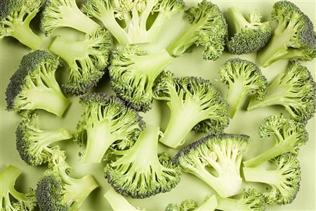 Pieces of broccoli are seen in this undated photo. REUTERS/Newscom