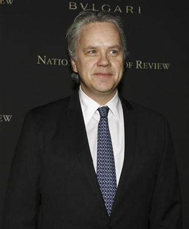 Actor Tim Robbins arrives at the 2008 National Board of Review awards gala in New York January 14, 2009. REUTERS/Shannon Stapleton