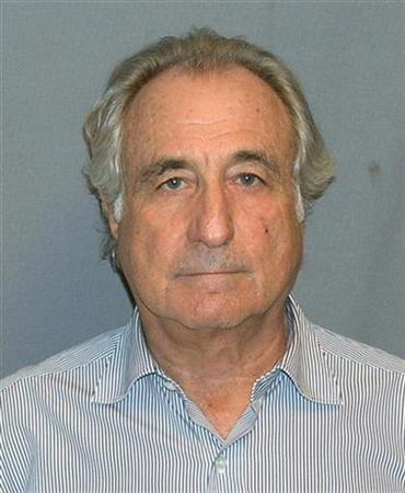 Booking mug shot of Bernard Madoff released to Reuters on March 17, 2009. SERVICE/FOIA/Handout