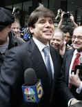 <p>Rod Blagojevich ex-governador de Illinois em Chicago. 14/04/2009. REUTERS/Frank Polich</p>