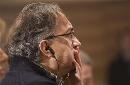 Sergio Marchionne, CEO of FIAT Group, attends a UBS media briefing in Zurich March 4, 2009. REUTERS/Miro Kuzmanovic