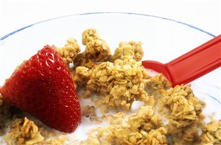 A close-up of granola is seen in this undated handout photo. (REUTERS/Newscom)