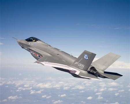 The F-35 Joint Strike Fighter in an undated photo.. REUTERS/Handout