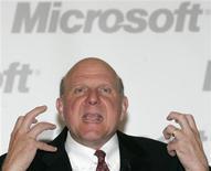 <p>Presidente da Microsoft, Steve Ballmer, faz palestra em Moscou. A companhia não está interessada em comprar nenhuma empresa de hardware, afirmou Ballmer, nesta quarta-feira.</p>