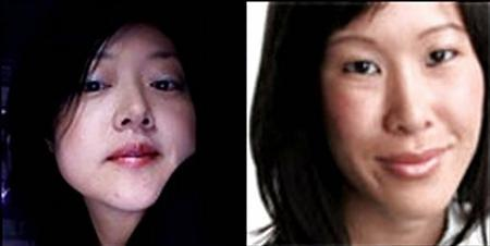 Journalists Euna Lee (L) and Laura Ling are seen in undated handouts in this combination photo. North Korea said on Friday that the two U.S. journalists arrested last month on its border with China would be put on trial to face criminal charges. REUTERS/Handout