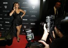 "<p>Actress Beyonce Knowles poses at the premiere of the film ""Obsessed"" in New York, April 23, 2009.REUTERS/Lucas Jackson</p>"