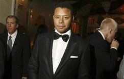 <p>Actor Terrence Howard is seen at the Golden Globe awards' after party for the HBO network in Beverly Hills, California in this file photo from January 12, 2009. REUTERS/Lucas Jackson</p>