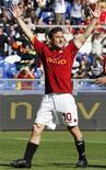 <p>Il capitano della Roma Francesco Totti . REUTERS/Giampiero Sposito</p>