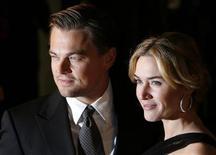 <p>Leonardo DiCaprio e Kate Winslet . REUTERS/Luke MacGregor</p>