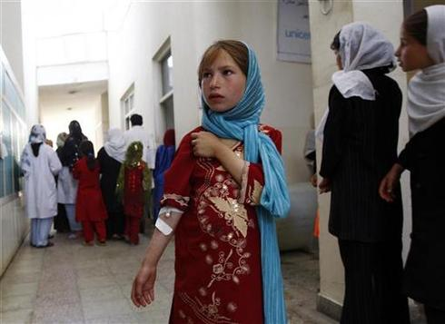 Afghan school poisoned