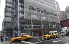 <p>La sede del New York Times a New York. REUTERS/Gary Hershorn (UNITED STATES)</p>