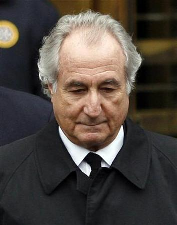 Bernard Madoff leaves the Manhattan federal courthouse in New York March 10, 2009. REUTERS/Shannon Stapleton