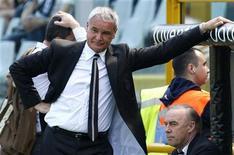 <p>L'allenatore della Juventus Claudio Ranieri. REUTERS/Alessandro Garofalo</p>