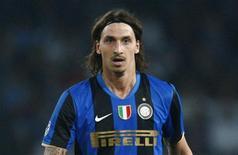 <p>Foto de arquivo do atacante Zlatan Ibrahimovic da Inter de Milão. 26/04/2009. REUTERS/Tony Gentile</p>