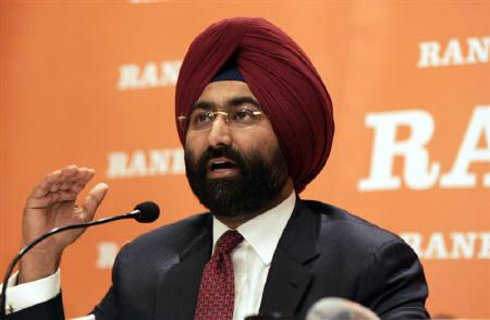Malvinder Singh speaks during a news conference in New Delhi in this June 11, 2008 file photo. REUTERS/Danish Ismail/Files