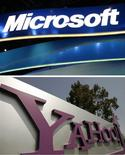 <p>Un partenariat avec Microsoft dans le domaine de la recherche sur internet pourrait être bénéfique pour Yahoo, avec notamment des économies de coûts pouvant aller jusqu'à 700 millions de dollars, déclare Carol Bartz, directrice générale du portail. /Photo d'archives/REUTERS</p>