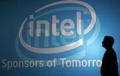 <p>Intel a racheté l'éditeur de logiciels Wind River Systems pour quelque 884 millions de dollars. /Photo prise le 3 juin 2009/REUTERS/Pichi Chuang</p>