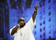 <p>Rap artist Rick Ross performs at the 8th annual BMI Urban Awards at the Wilshire theatre in Beverly Hills, California, in this September 4, 2008 file photo. REUTERS/Mario Anzuoni/Files</p>