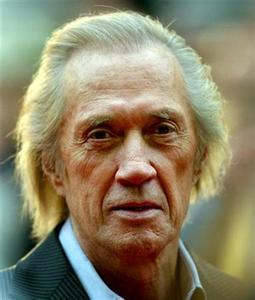 David Carradine arrives at the London premiere of ''Kill Bill Volume 2'' in a 2004 photo. REUTERS/File