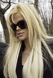 <p>Foto de arquivo da modelo Anna Nicole Smith. 28/02/2006. REUTERS/Chris Kleponis/Arquivo</p>