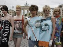 <p>Roupas do estilista de Berlim Daniel Rodan. 09/06/2009. REUTERS/Tobias Schwarz</p>