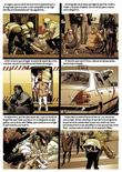 <p>Drawings which feature in a comic recounting the Madrid 2004 train bombings and subsequent trial, are pictured in this undated handout released June 9, 2009. REUTERS/Panini Espana/Handout</p>