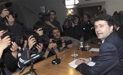 <p>Il segretario del Pd Dario Franceschini. REUTERS/Alessandro Bianchi</p>