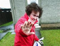 <p>Foto de arquivo de Susan Boyleem sua casa. 08/05/2009. REUTERS/David Moir/Arquivo</p>
