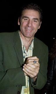 Actor Michael Richards arrives as a guest for the premiere of the new comedy film ''The Ladies Man'' October 10, 2000 at the Paramount Studios lot in Hollywood. RMP/SV